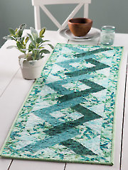 EXCLUSIVELY ANNIE'S QUILT DESIGNS: Tangles Table Runner Pattern