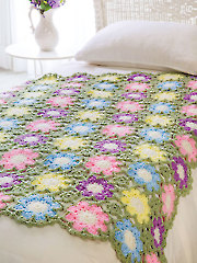 Flowers of Summer Throw