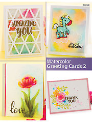 Watercolor Greeting Cards 2