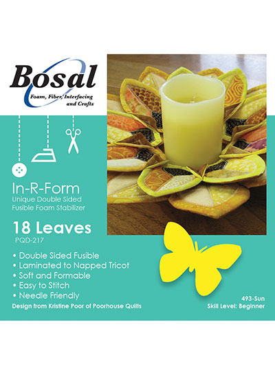 In-R-Form Double Sided Fusible Leaf 18/pkg.