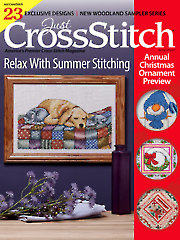 Just CrossStitch July/August 2017