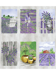 "Lovely Lavender Panel 44"" x 24"""