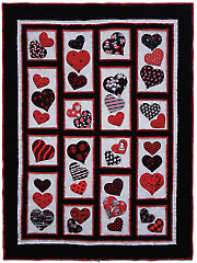 Happy Hearts Quilt Pattern