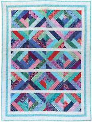 Crosscut Quilt Pattern