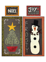 Christmas Chalk Mini's Pattern