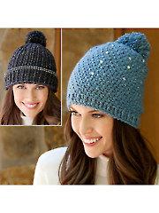 ANNIE'S SIGNATURE DESIGNS: Bling Beanies