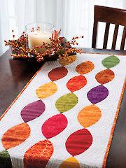 Pumpkin Seeds Table Runner Pattern