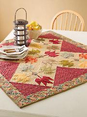 Splendor in Fall Table Topper Pattern