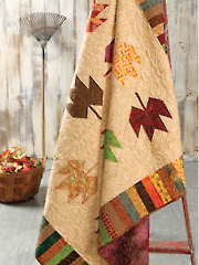 Free-Falling Leaves Quilt Pattern
