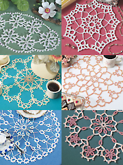 Tatted-Look Doilies