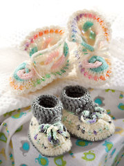 Mile-a-Minute Baby Booties