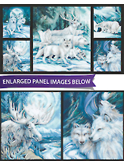 "Ice Winter's Majesty Digital Panel 44"" x  24"""