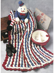 Humpty Dumpty Afghan Crochet Set