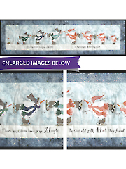 Skating Snowmen Quilt Pattern or Embellishment Pack