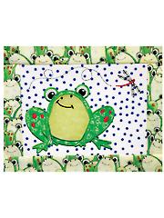 Tasty Tidbits Frog Mug Rug Embroidery CD