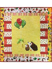 Up Up & Away Hedgehog Quilt Pattern