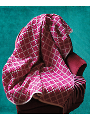 Textured Tiles Afghan
