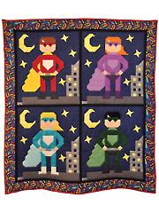 Super Hero Quilt Pattern
