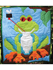 Tree Frog Quilt Pattern