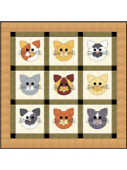 Tom Cats Quilt Pattern