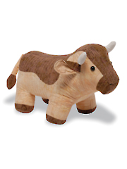 Cow Stuffed Animal Sewing Pattern
