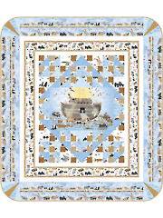 Noah's Ark Two by Two Quilt Pattern