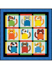 Cat Naps! Quilt Pattern