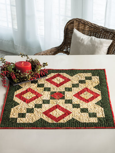 EXCLUSIVELY ANNIE'S QUILT DESIGNS: Holiday Delight Quilt Pattern