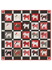 EXCLUSIVELY ANNIE'S QUILT DESIGNS: Scotty Love Quilt Pattern