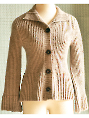 Elderberry Cardigan Knit Pattern
