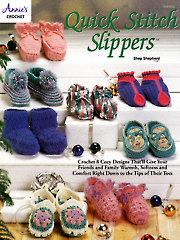 Quick Stitch Slippers