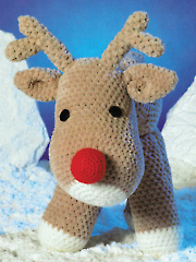 Rudolf the Reindeer Crochet Pattern