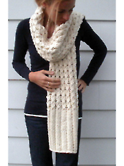 Vanilla Twist Scarf Knit Pattern
