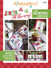 Jingle All the Way Sewing Pattern Book