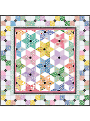 Diamond Stars Quilt Pattern