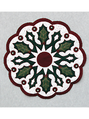 Holly All Around Table Topper Pattern
