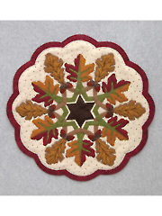 Fall Leaves Table Topper Pattern