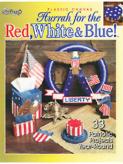 Hurrah for the Red, White & Blue