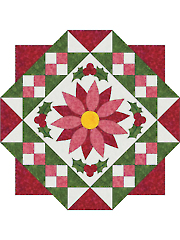 Christmas Flower Table Topper Pattern