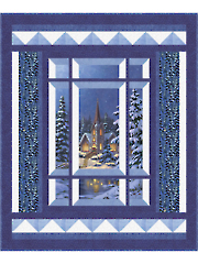 Modern Window Silent Night Pattern