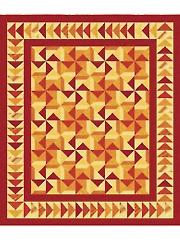 Sizzling Sunset Quilt Pattern