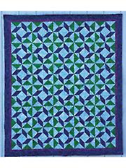 Seaglass Quilt Pattern