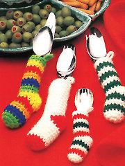 Silverware Socks