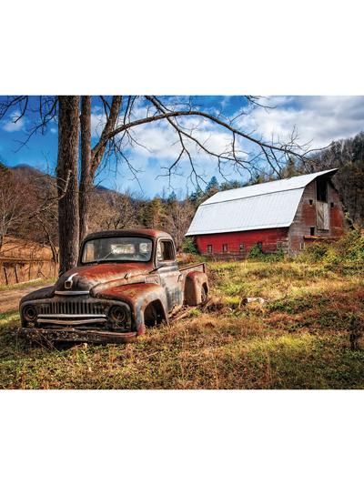 "Multi Barn & The Truck Digital Panel 35 1/2"" x 44"""