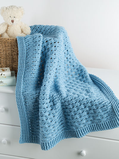 Cherished Cables Blanket