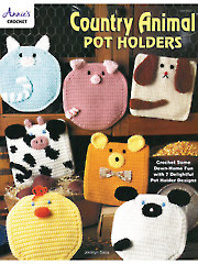 Country Animal Pot Holders