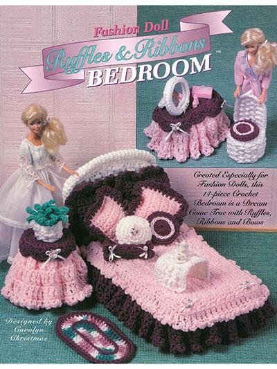 Fashion Doll Ruffles & Ribbons Bedroom