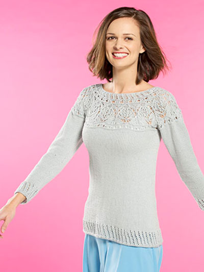 Final Frost Pullover Knit Pattern