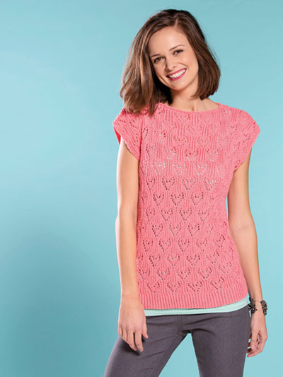Love Lace Tee Knit Pattern