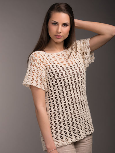 Net Lace Top